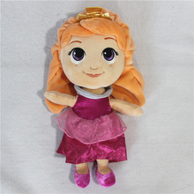 1pcs Original Princess Aurora Plush Toys Doll Sleeping Beauty Aurora Soft Stuffed Dolls Girls Gift princess toys(China)