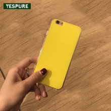YESPURE Wholesale Acrylic+TPU Cheap Mobile Phone Accessories for IPhone 7plus White Soft Cell Phone Cases Full Back Covers(China)