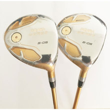 New mens H Golf clubs S-05 4 star Golf fairway wood 3/15 5/18 Withgraphite golf shaft R S or SR flex wood clubs free shipping(China)
