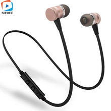 Buy LY-11 Metal Sports Bluetooth Headphone SweatProof Earphone Magnetic Earpiece Stereo Wireless Headset Mobile Phone for $5.74 in AliExpress store