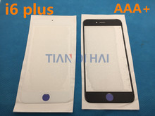 50pcs/lot Original NEW Replacement LCD Front Touch Screen Glass Outer Lens for iphone 6 plus 5.5inch AAA+(China)