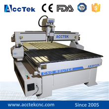 Wood CNC Router/stepper motor wood cnc router with dust collector/wood flooring cnc router 1325 price(China)