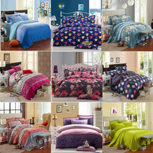 UNIHOME HOT Promotion !Free Shipping Reactive Printing Bedding Set duvet cover set Bed linen Sheet Bedding