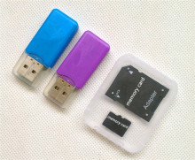 High qulity TF card Micro TF Card Class 10 Memory Card super mini T-Flash Transflash gift reader+adapter 2g 4g 8g 16g 32g 64g
