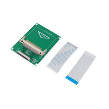 "New Compact Flash socket CF Memory Card to CE Ipod ZIF SSD HDD Adapter 1.8"" 1.8inch 50-Pin with 2 Cables(China)"