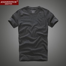 Buy Men's Tees Tops 2017 Summer Shirts 100% Cotton Men's Short T shirts Brand Slim Embroider Casual Mens Tops Basic Tees t-shirt XXL for $8.07 in AliExpress store
