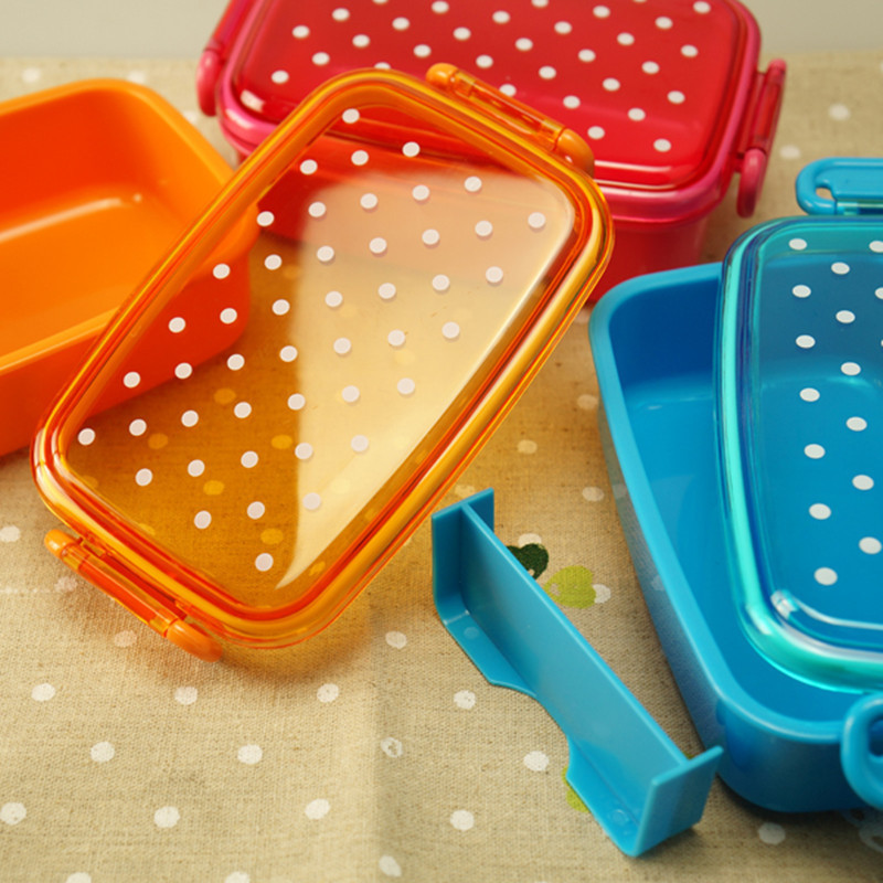 Polka-Dot-Lunch-Box-Portable-Food-Container-bento-Lunch-boxs-Kids-fruit-Snack-Bento-Microwave-Lunchbox (4)