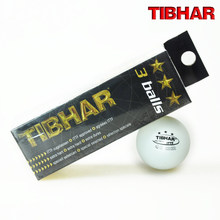 12 Balls/lot TIBHAR Original 3 Star 40mm Table Tennis Ball White Ping Pong Balls ITTF Approved Tenis De Mesa