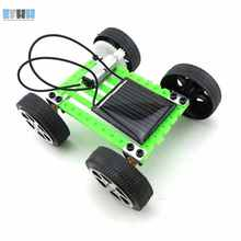 EFHH Mini Upgraded Version Car Solar Toys DIY Science and Technology Small Production Assembled Puzzle Educational Kids Toy