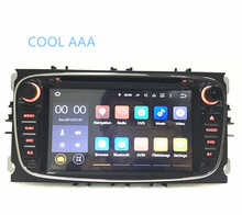 1024*600 2Din Android 5.1 Quad Core Car DVD GPS Navigation for Ford Mondeo S-Max Cmax Focus Radio Head Unit 3G