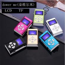 MLLSE Hot Sell  USB Mini LCD portable Support 32GB mini SD TF card MP3,  player has new headset and storage kit Free Shipping