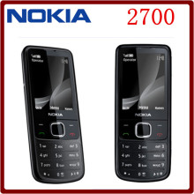 Original Nokia 2700C 2700 Classic Unlocked GSM 2MP FM Mp3 Player Refurbished Cheap Mobile Phone Free Shipping(China)