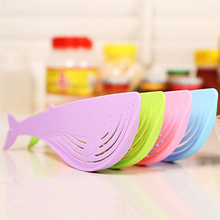 Hot! Multifunctional Rice Washer Creative Whale Shape Spoon Filter Kitchen Cooking Tool