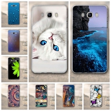 "Case For Samsung Galaxy J7 2016 Case for samsung galaxy j7 Cover 5.5"" TPU Soft Silicon Cover For Samsung j7 2016 J710F Phone bag"