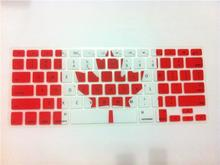 Canada CA Flag English Silicone keyboard cover for Apple macbook Air Pro Retina 13 15 17 for mac book laptop Skin Film