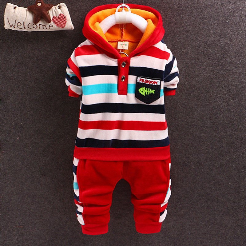 2015 New autumn Baby boys/Girls Clothing sets children warm clothes set kids T-shirt+ pant 2PCS Set child toddler boy clothes<br><br>Aliexpress