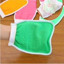 New strange practical Hammam Bath Scrub Magic Peeling Glove Exfoliating Tan Remover With flowers