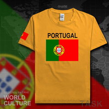 Portugal men t shirt 2017 jerseys Portuguese nation team tshirt cotton t-shirts meeting fitness clothing tees Portuguesa flag PT(China)