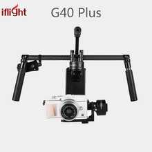 Upgraded iFlight G40 Plus 3-Axis Brushless Handheld Gimbal DSLR Camera Stabilizer for Sony A7S,GH4,BMPCC Micro SLR Camera(China)