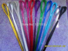 100pcs/lot 22# Commonly used iron Wire For DIY nylon flower 12 colors to choose Ronde flower Material(China)