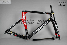 2016 cool frame carbon road bike frame set:headset+seat post+clamp+frame+fork BSA/BB30, free shipping cube frame and fixie