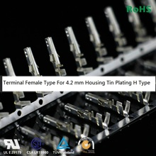 100pcs 4.20 mm 5557 Terminal Female needle For PC Computer Power 4.2 mm Pitch Male shell Tin plating High Type 3900-0039(Hong Kong)