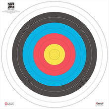 80*10 Nonwovens Archery Shooting Target Paper Fireproof and Rainproof Target Paper target Out Door Indoor Durable Target paper(China)