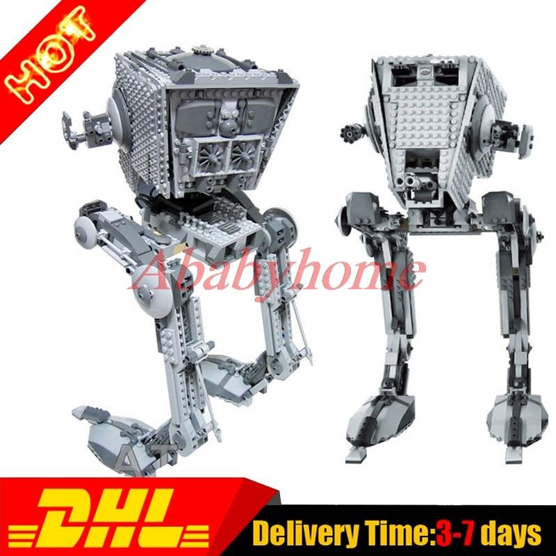 Actuals LEPIN 05052 Star War Series 1068pcs Star War empire AT ST Blocks Bricks Model Building Kit Blocks Toy Clone 75153<br><br>Aliexpress