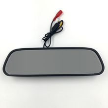 3.5 inch Car Rearview Mirror Monitor Car HD Video Night Vision Reversing Auto Parking Monitor for Car Backup Camera