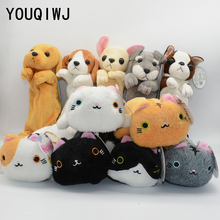 Plush pencil case Kawaii pencilcase Cat estojo escolar trousse scolaire stylo school supplies kalem kutusu astuccio scuola(China)
