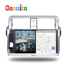 Car 2 din radio android 7.1 GPS Navi for Toyota Prado 150 2014+ autoradio navigation head unit multimedia video stereo 2Gb Ram