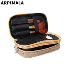 ARPIMALA Sequins Makeup Bag Women Luxury Cosmetic Bags Necessaries Travel Makeup Case Brush Pouch Beauty Kit Toiletry Organizer(China)