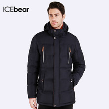 ICEbear 2016 Cotton New Style High Quality Jacket Men Winter Fashion Warm Regular Parkas And Coats Hooded 16MD893D