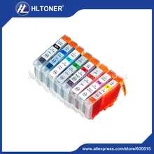 9pcs ink cartridge 3/3e/5/6/8 BK/BK/C/M/Y/PC/PM/G/R  Compatible CANON PIXMA iP8500 Pro9000 I series i990 i9900 i9950