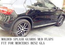 for GLA200 & BENZ GLA220 Model For Mercedes Benz GLA X156 2014 2015  Molded Splash Guards Mud Flaps Cover Trim - Front & Rear