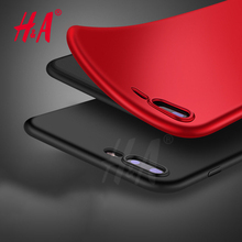 H&A Luxury Matte Soft Ultra-thin Back Full Case For iPhone 7 7 Plus Case TPU Protective Shell Cover For iPhone 7 plus Case