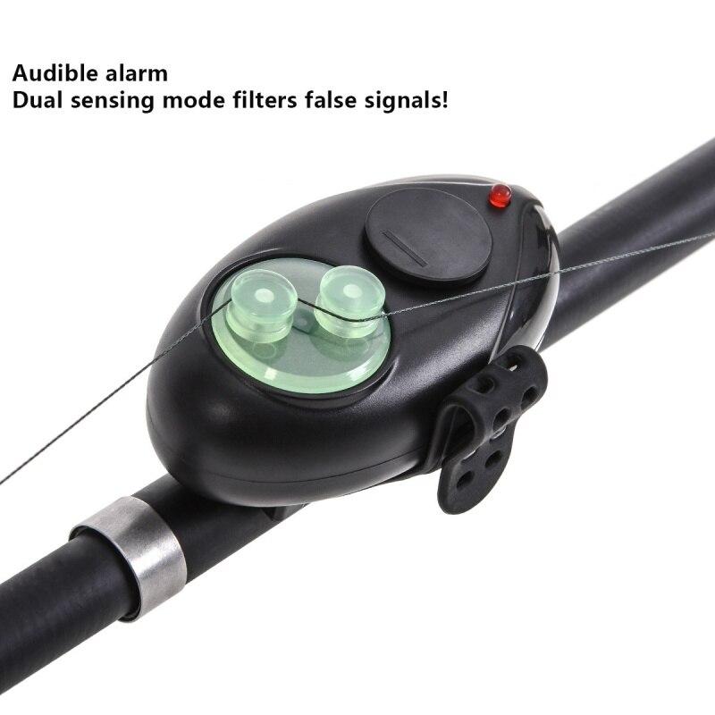 Booms Fishing Fish Bite Alarm, iBuyXi.com, Fishing, Fishing Electronic Alarm, Fishing Rod, Fishing Siren Indicator with LED Light