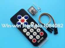 Hot Selling 1pcs  New Infrared IR Wireless Remote Control Module Kits For Arduino Wholesale