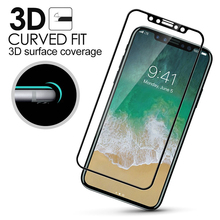 Buy Tempered Glass iPhone X 3D Full Screen Cover Coverage Explosion-proof Tempered Glass Film iPhone 8 Plus 7 6 6sPlus Glass for $2.15 in AliExpress store