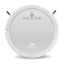new taiwan cleanmate robot vacuum cleaner ,lower noise ,patent rolling mopping , strong sunction lower noise(China)