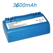 3600mAh 14.4V Battery Pack Fr iRobot SCOOBA 330 350 340 5900 5910 5920 5940 5950