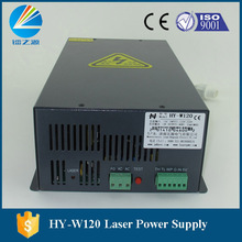 producer 120w high voltage laser tube power source original HY-W120 AC110V to AC220V