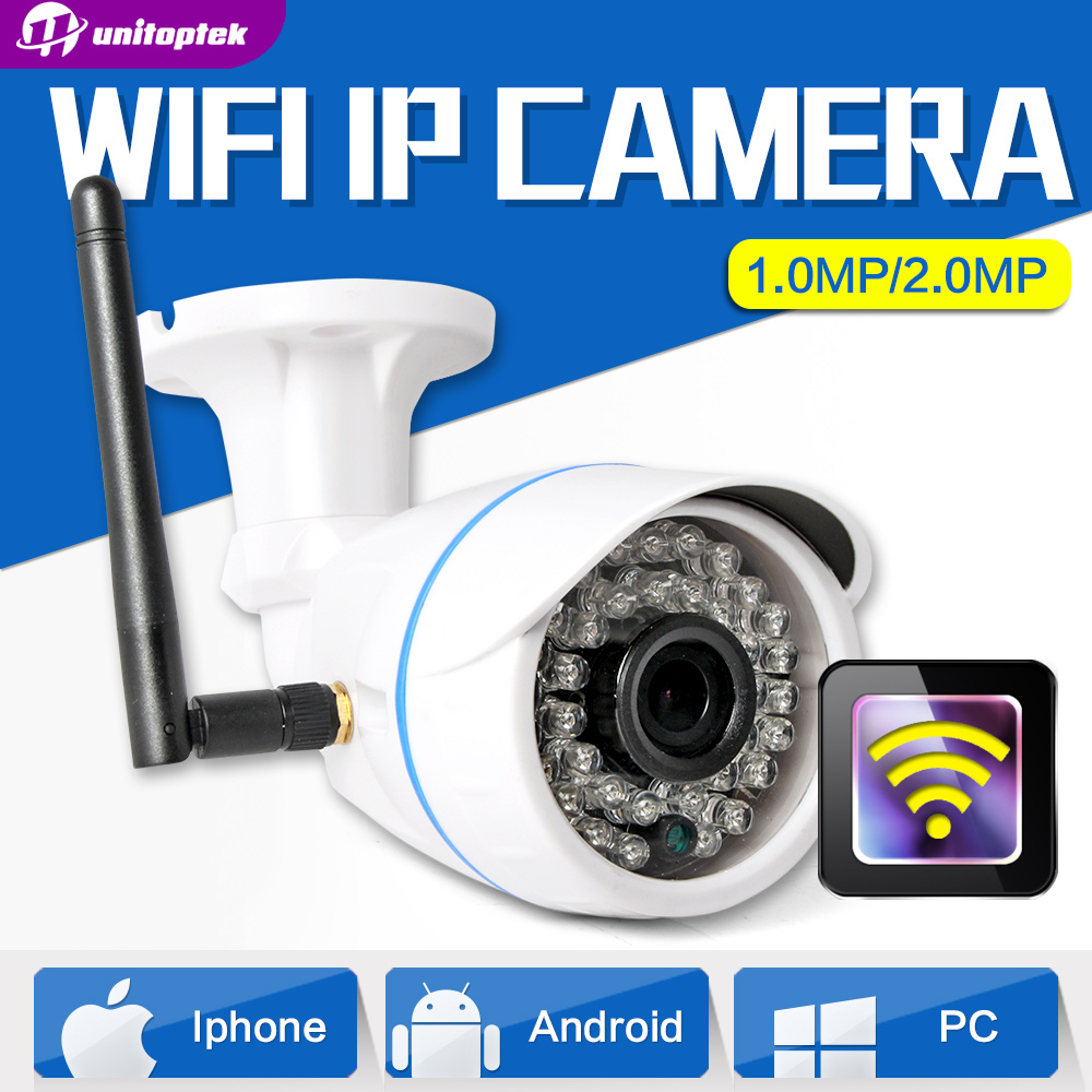 HD 720P 1.0MP Wifi IP Camera  Wireless Outdoor Waterproof 1080P 2MP CCTV Surveillance Smart Bullet Security Camera Onvif XMEye<br><br>Aliexpress