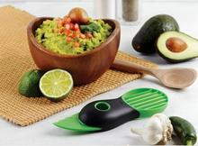 Creative Gadgets 3 in 1 Avocado Slicer Shea Butter Knife Flesh Separation Peeling Knife Kitchen Accessories Cooking Tools