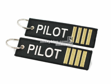 Pilot / Co-Pilot Travel Accessories Epaulette Epaulet Shoulder Mark Style, Luggage Bag Tag ,Gift to Aviator Airman Flight Crew(China)
