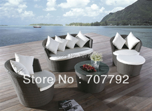 All Weather Marigold Outdoor garden furniture rattan Sofa Set(China)
