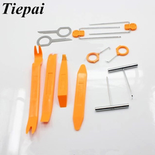 Buy Tiepai Hot 12pcs/set Plastic Car Radio Door Clip Panel Trim Dash Audio Removal Pry Tool Repairing Auto Panel Removal Tools Set for $4.49 in AliExpress store
