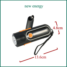 [Seven Neon]Smart crank dynamo radio torch/functional/emergence alarm//FM AM/luminated circle/bright camping light tourch