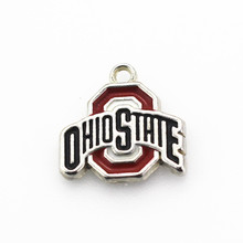Buy 20pcs/lot OHIO STATE Dangle Charms DIY Bracele&bangles Hanging Charms Floating charm Jewelry Accessories for $7.74 in AliExpress store
