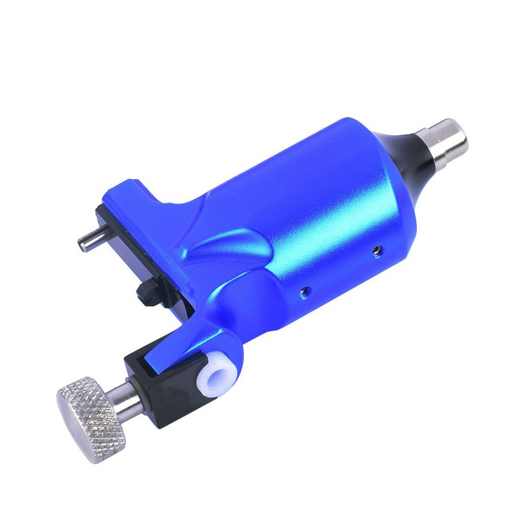 1pcs Professional High Quality Tattoo Machine Tattoo Equipment Aluminum Machine Tattoo Power Supply Fine Lining Tattoo Tool Blue<br>